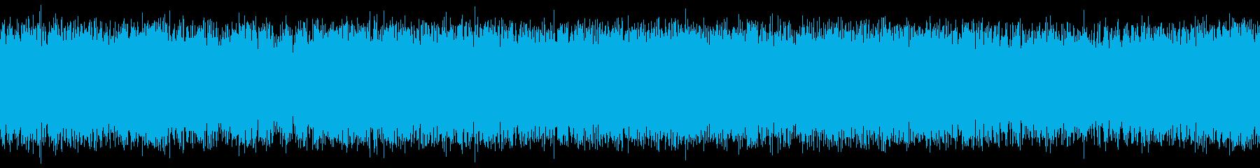 列車の走行音2(IC)の再生済みの波形
