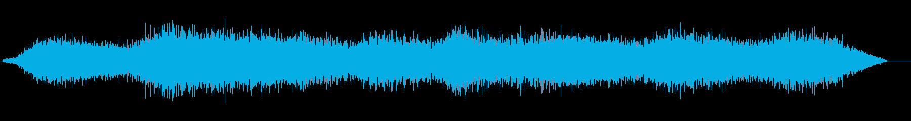 お化け屋敷の雰囲気の再生済みの波形