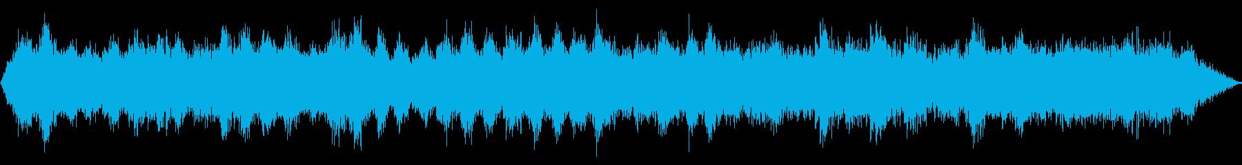 空間周波数の渦、高速の再生済みの波形