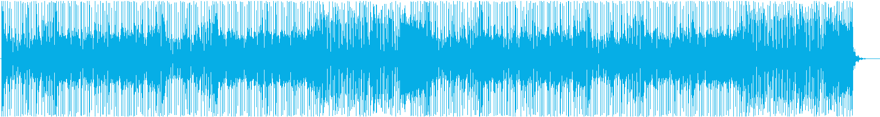 ポップなカートレースBGM01の再生済みの波形