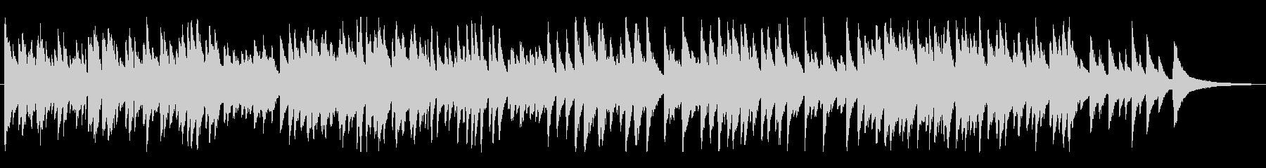 ジャズ風のゆっくりめラウンジピアノソロの未再生の波形