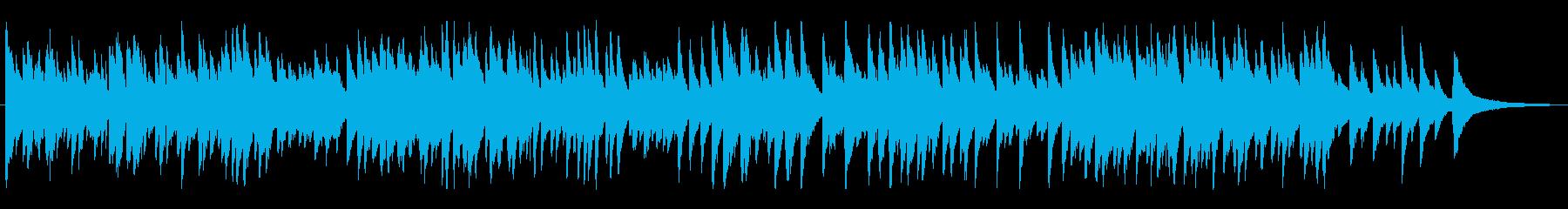 ジャズ風のゆっくりめラウンジピアノソロの再生済みの波形