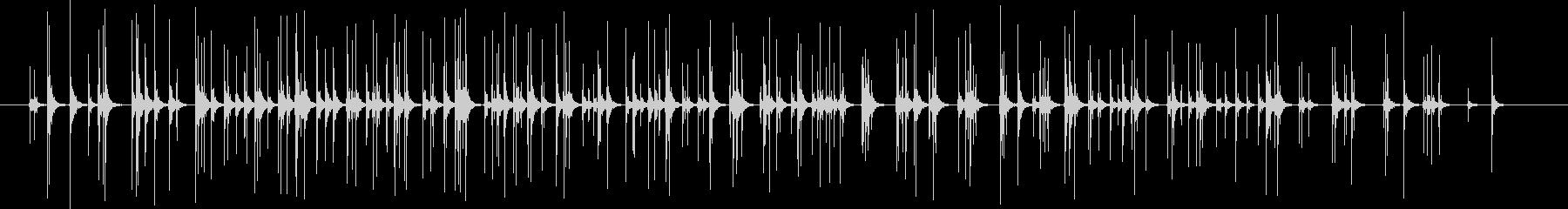 【録音】拍手10秒の未再生の波形