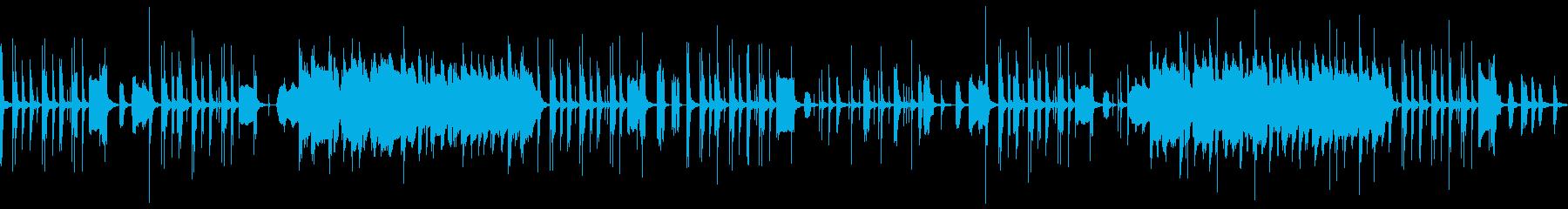 ほのぼのコミカルギャグな鍵盤ハーモニカの再生済みの波形