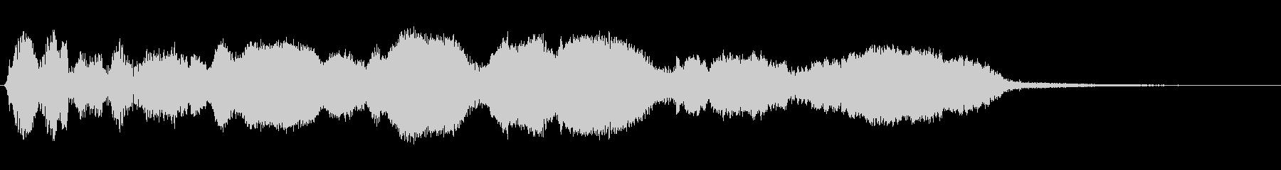 ミュートされた電子静的ベッド1の未再生の波形