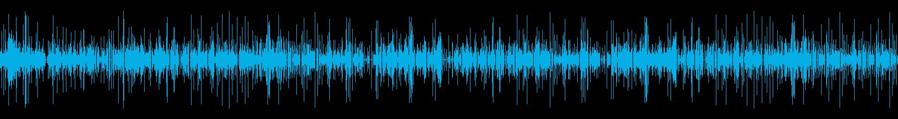 LPレコードプレーヤー:45 RP...の再生済みの波形