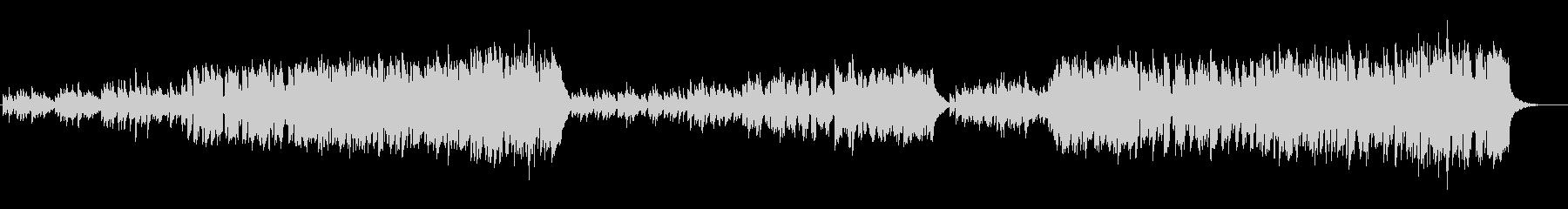 リコーダーの為のピアノ協奏曲「春」の未再生の波形