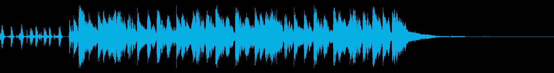 アイワンダーの再生済みの波形