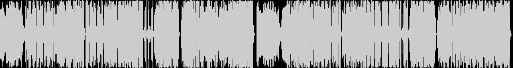 8bit:熱い:男:戦い【ループ】の未再生の波形