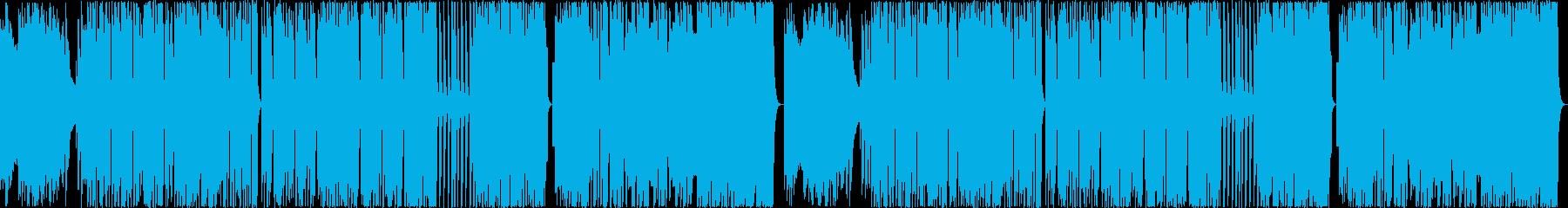 8bit:熱い:男:戦い【ループ】の再生済みの波形