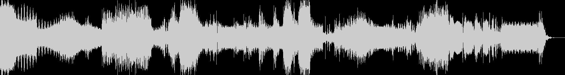 謎の怪電波01の未再生の波形