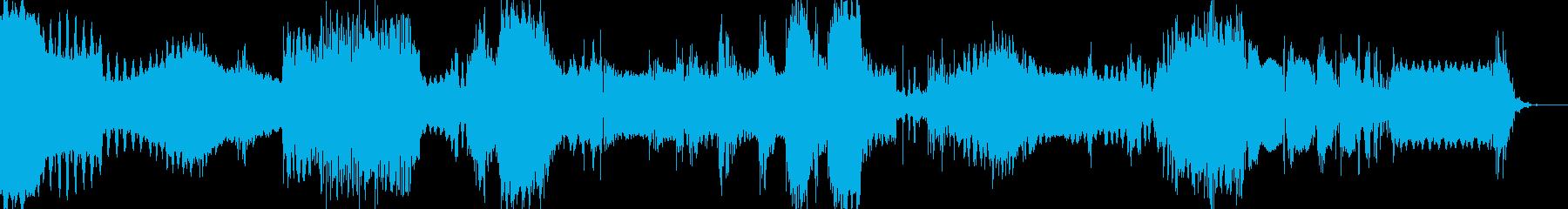 謎の怪電波01の再生済みの波形