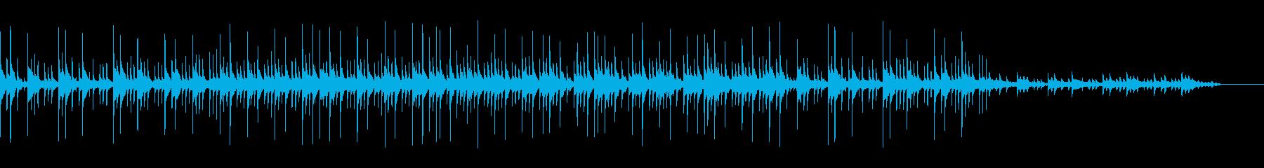 カワイイ・オルゴール風3拍子ポエムBGMの再生済みの波形