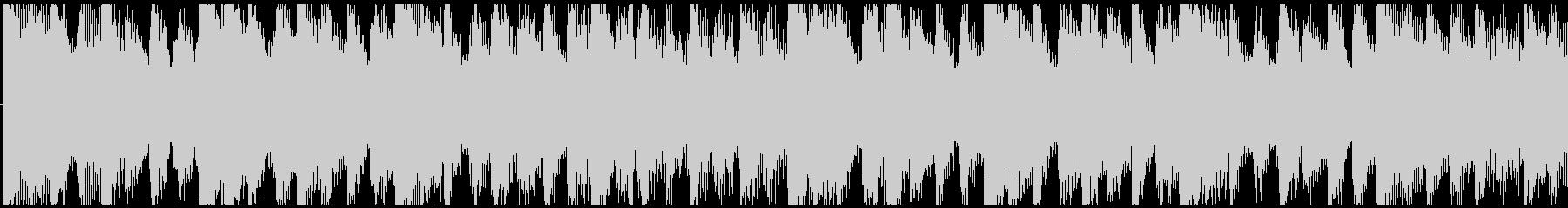 気分が上がるクリスマスBGM-ループ2の未再生の波形