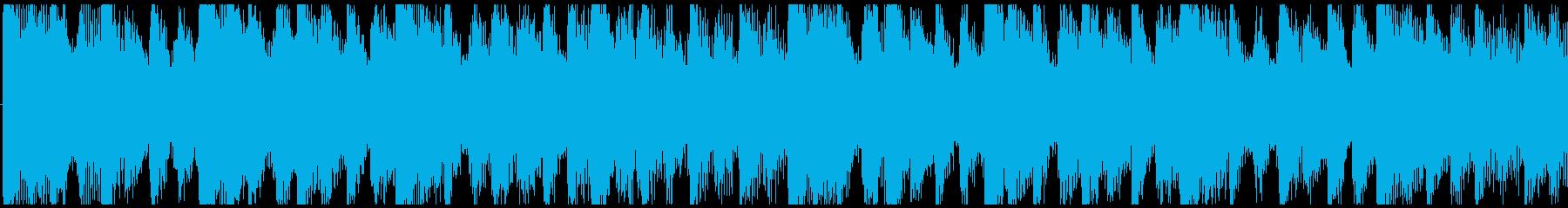 気分が上がるクリスマスBGM-ループ2の再生済みの波形