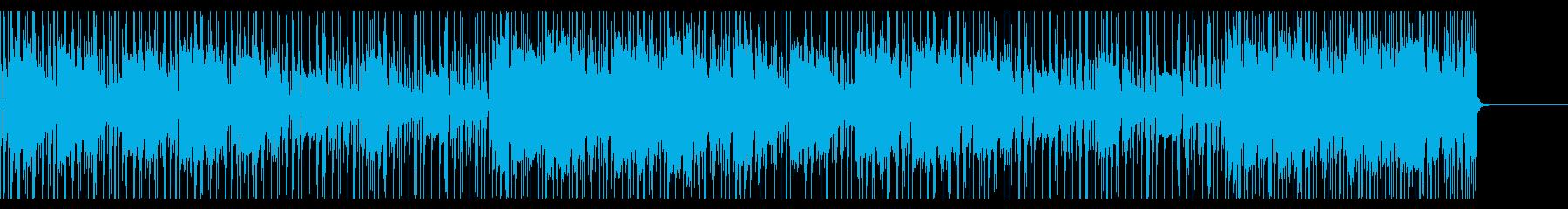 都会的なギターフュージョンの再生済みの波形