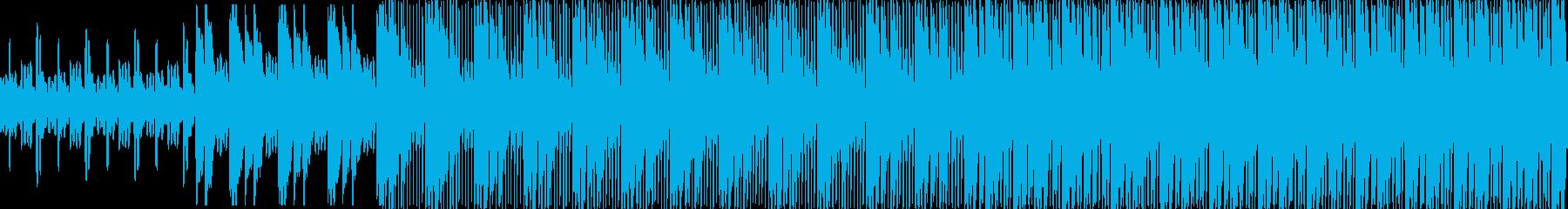 1分が長く感じられるような繰り返しが続…の再生済みの波形