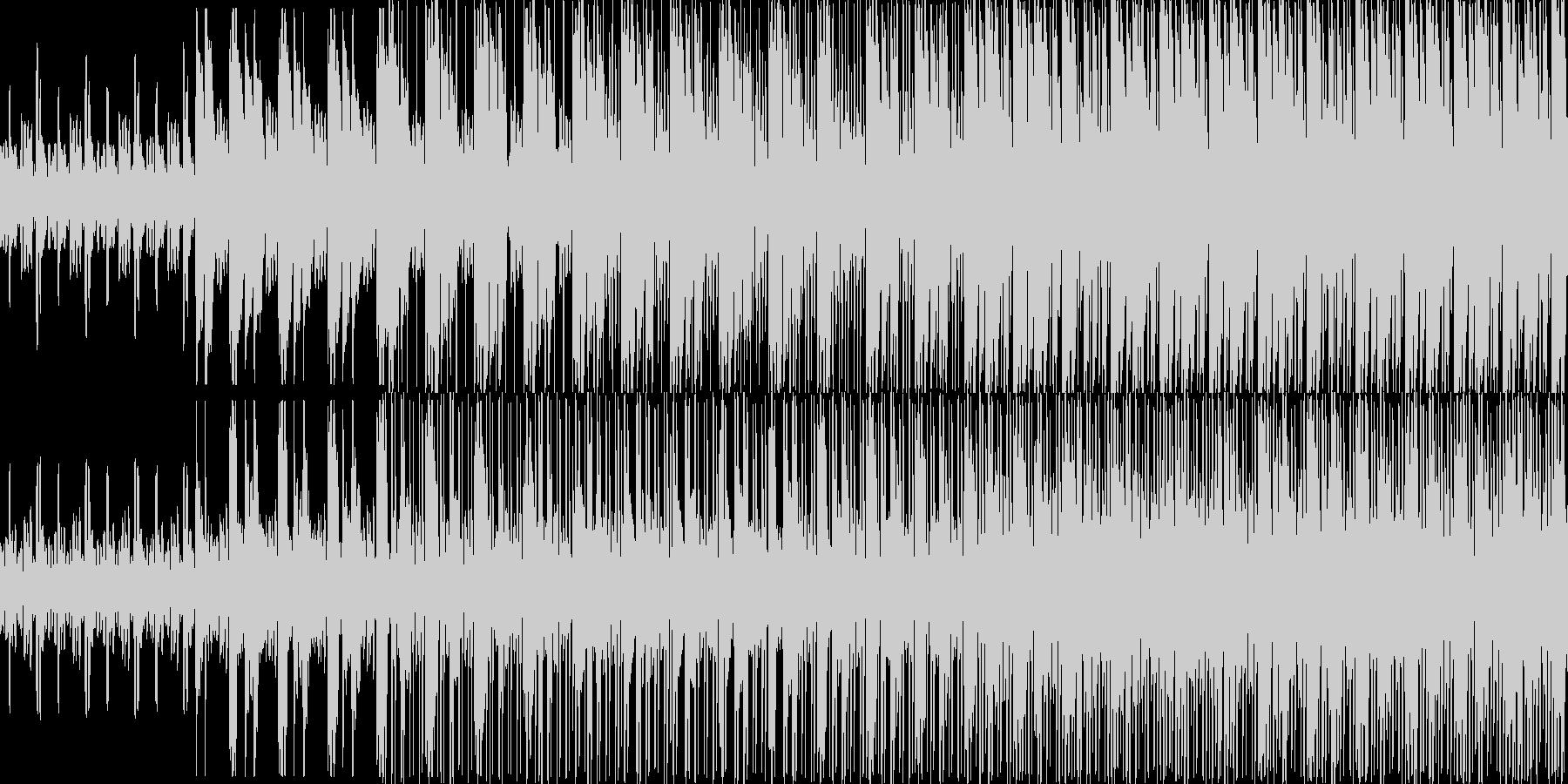 1分が長く感じられるような繰り返しが続…の未再生の波形