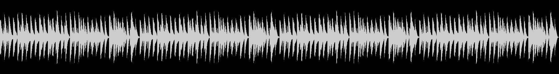 雪(童謡)【ピアノソロ】_02ループの未再生の波形