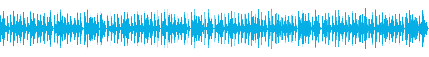 雪(童謡)【ピアノソロ】_02ループの再生済みの波形
