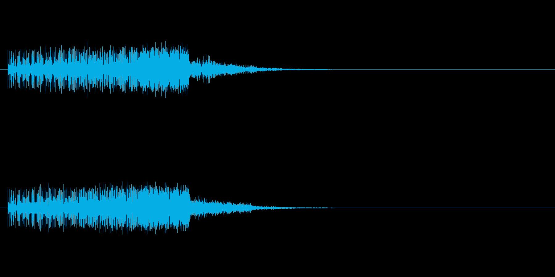 テロテロテロの再生済みの波形