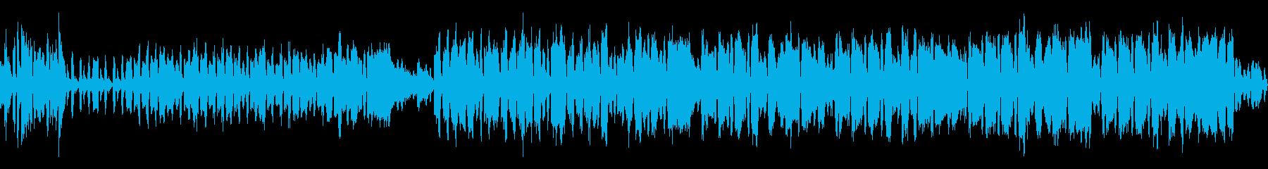 民族楽器で奏でる面白い元気なBGMの再生済みの波形