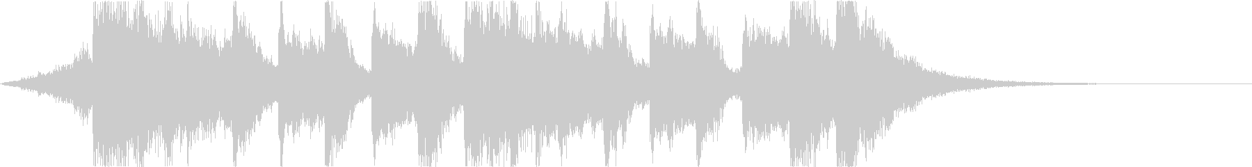 Comical and fun Halloween horror song e's unreproduced waveform
