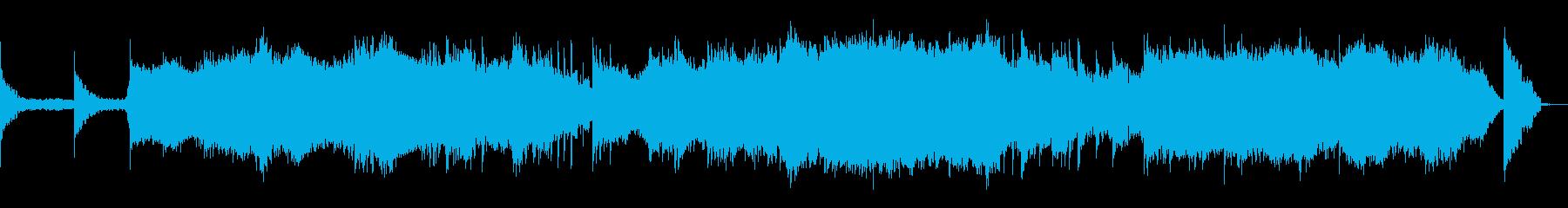 ニューエイジアンビエント。きらめく...の再生済みの波形