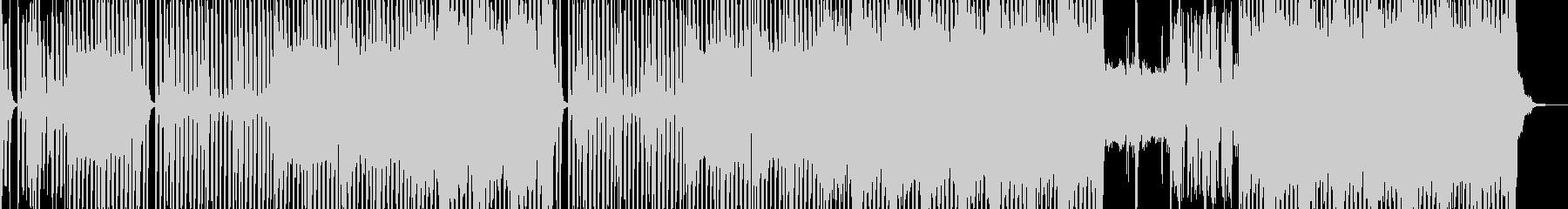 民族楽器・怪しげで恍惚なテクノ ボイス有の未再生の波形