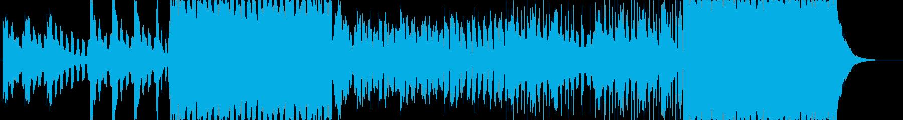 ノリノリの再生済みの波形