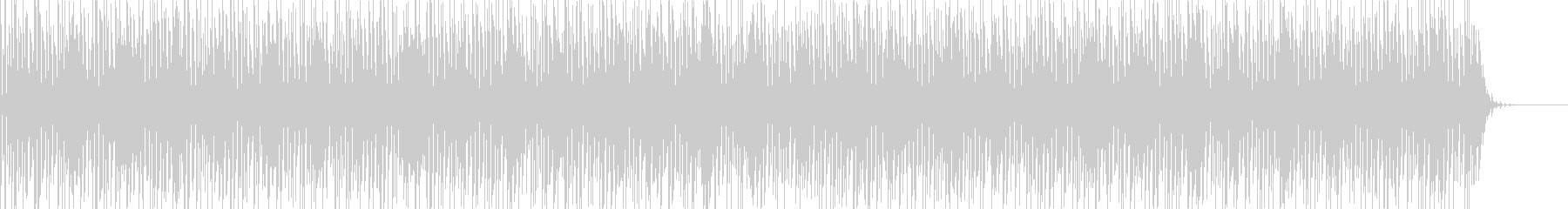 実用的シンセの無機質アンビエントBGM7の未再生の波形