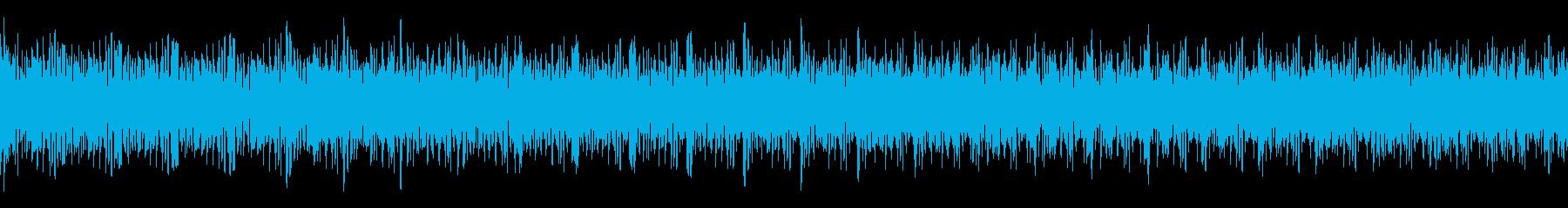 ガガガガガガ (ループ仕様のマシンガン)の再生済みの波形