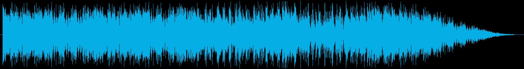 アグレッシブなアコギとエレクトロの融合の再生済みの波形