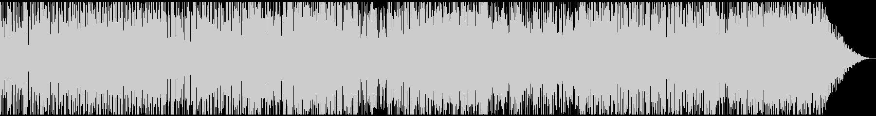 サックス、スピード感スリリングなファンクの未再生の波形