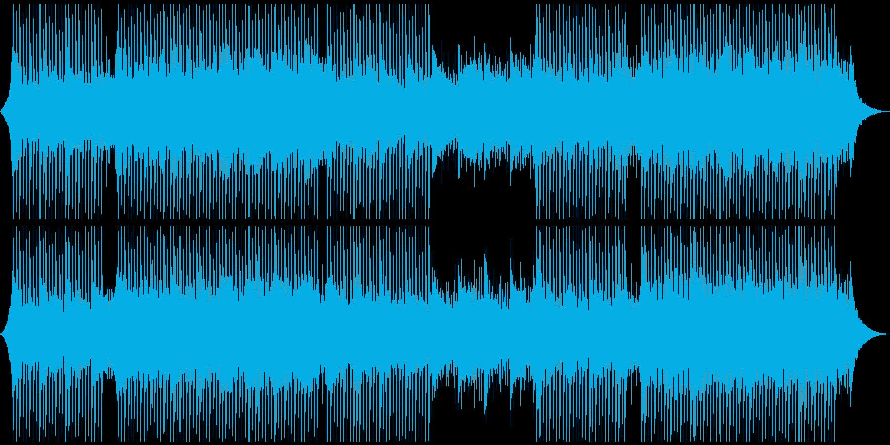 感動的で高揚感のあるエレガントな企業音楽の再生済みの波形