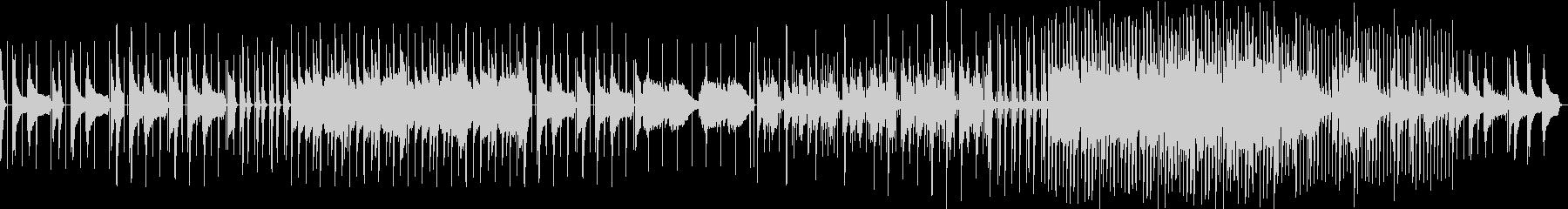 ローファイ系ピアノBGMの未再生の波形