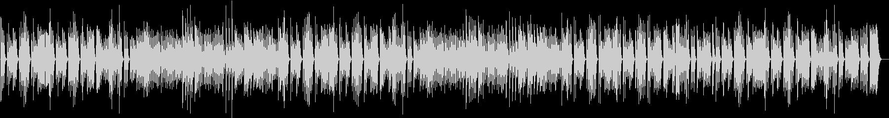 ペット動画に♪ワンパク軽快なピアノBGMの未再生の波形