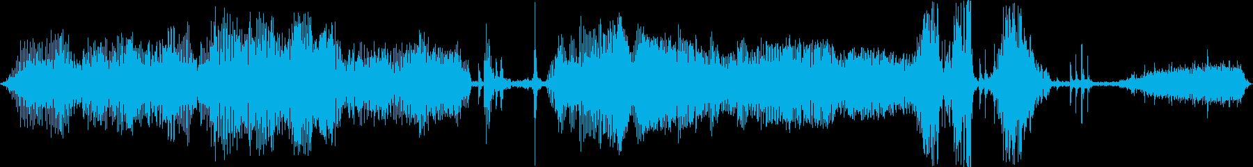 プーマ(クーガー)ギャグギャグと鋭...の再生済みの波形