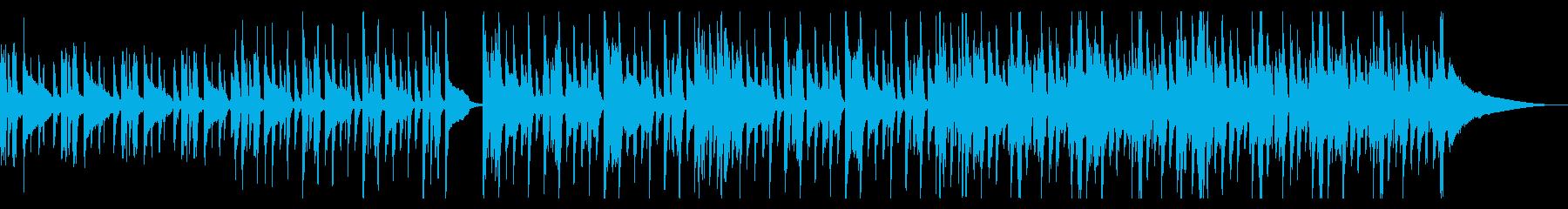 爽やかなハウス_2の再生済みの波形
