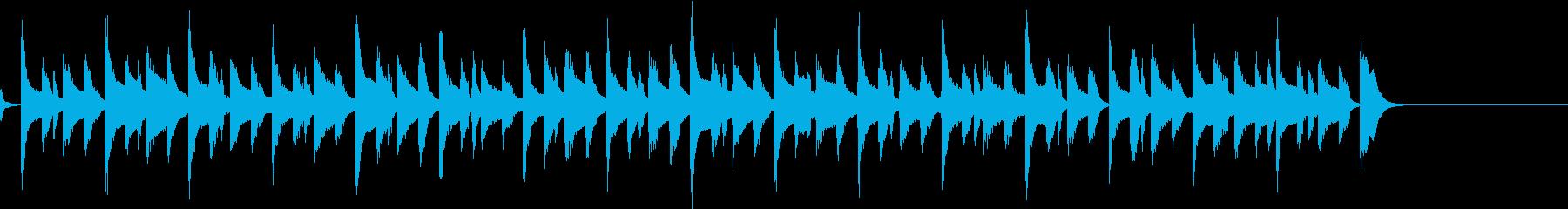 ほのぼの やさしい 日常 ジングル3の再生済みの波形