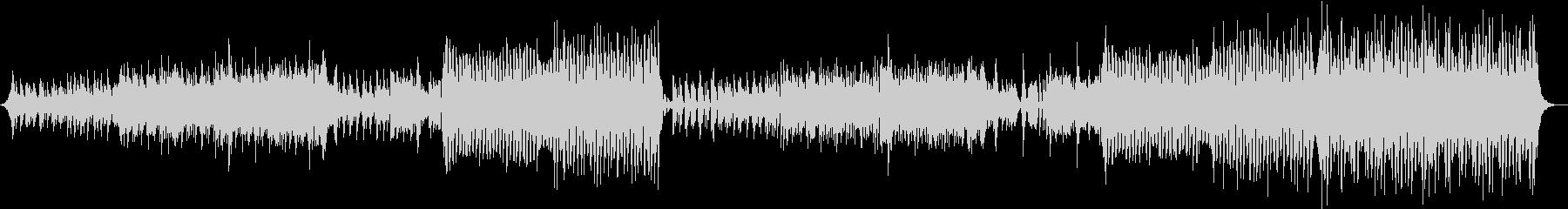 軽快ピアノEDM和風の未再生の波形