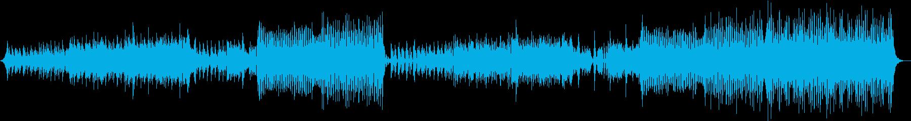軽快ピアノEDM和風の再生済みの波形