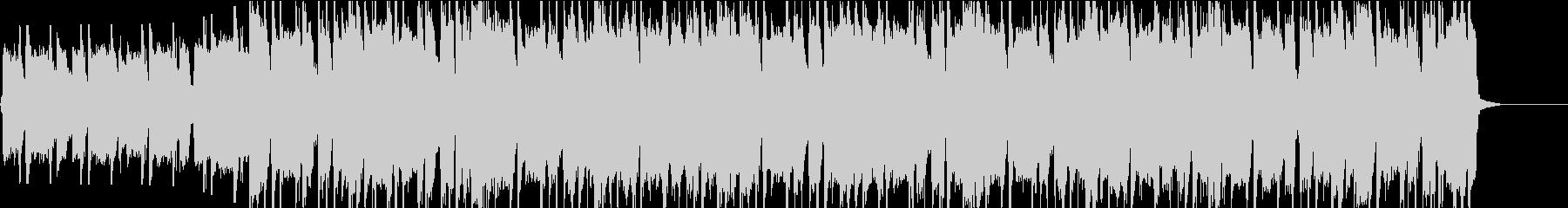 ポップなエレキギターオープニング・リフ2の未再生の波形