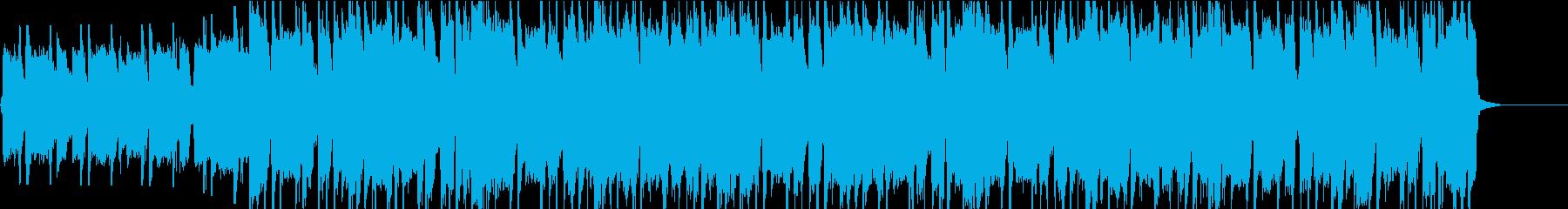 ポップなエレキギターオープニング・リフ2の再生済みの波形