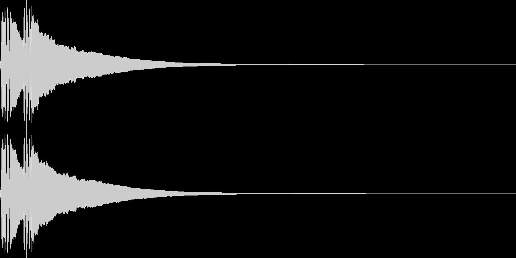 リリン。自転車のベルB(高・速)の未再生の波形