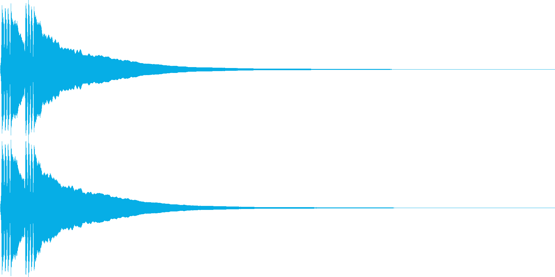 リリン。自転車のベルB(高・速)の再生済みの波形
