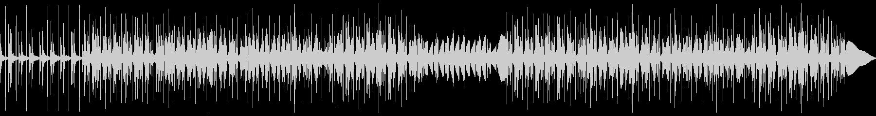 チルアウト幻想的なトラップビートBGMの未再生の波形