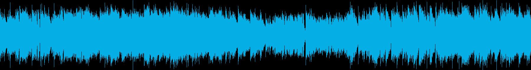ピアノと弦楽器のキレイめ(ループ可)の再生済みの波形