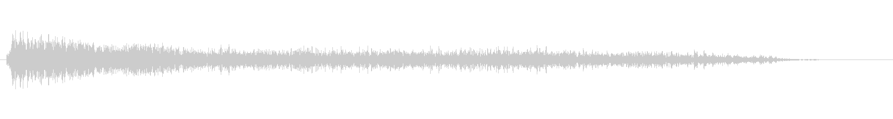 ジャーン【オケヒ】音程低めの未再生の波形