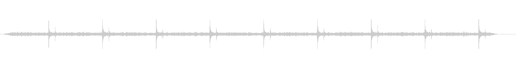 プレスドローイング-ドリブンベルトの未再生の波形